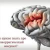 Лечение геморрагического инсульта и его последствия