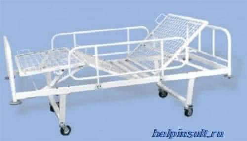 Функциональная медицинская кровать для лежачего больного