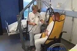 Вертикальный подъемник для инвалида