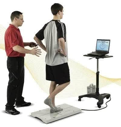 Тренировка равновесия с терапией баланс