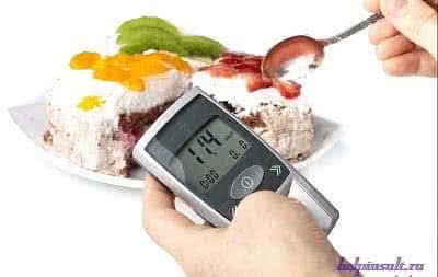 Инсульт с сахарным диабетом