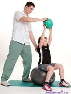 Комплекс упражнений с медицинским мячом