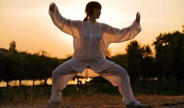 Видео упражнений цигун