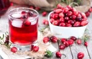 Fresh Cranberry Juice
